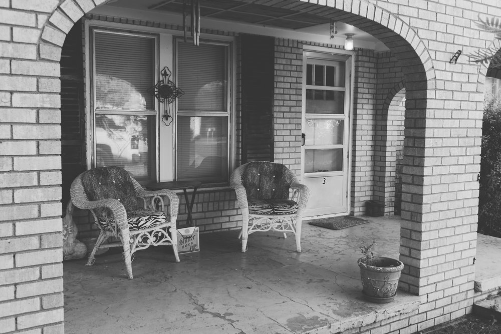 They just don't make porches like this anymore.