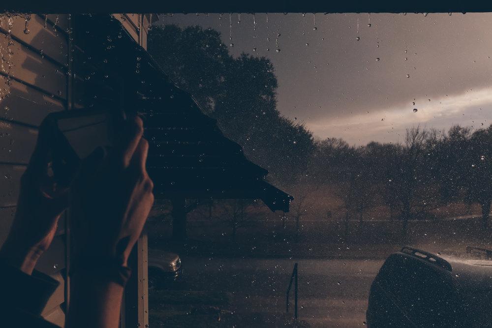 January 21. Thunder storm.
