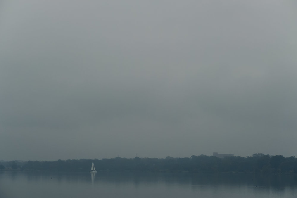 Photo of sailboat on the water.