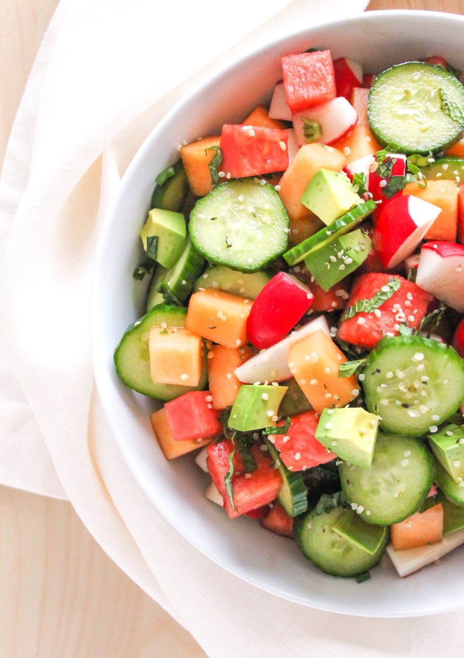 Cucumber melon chutney