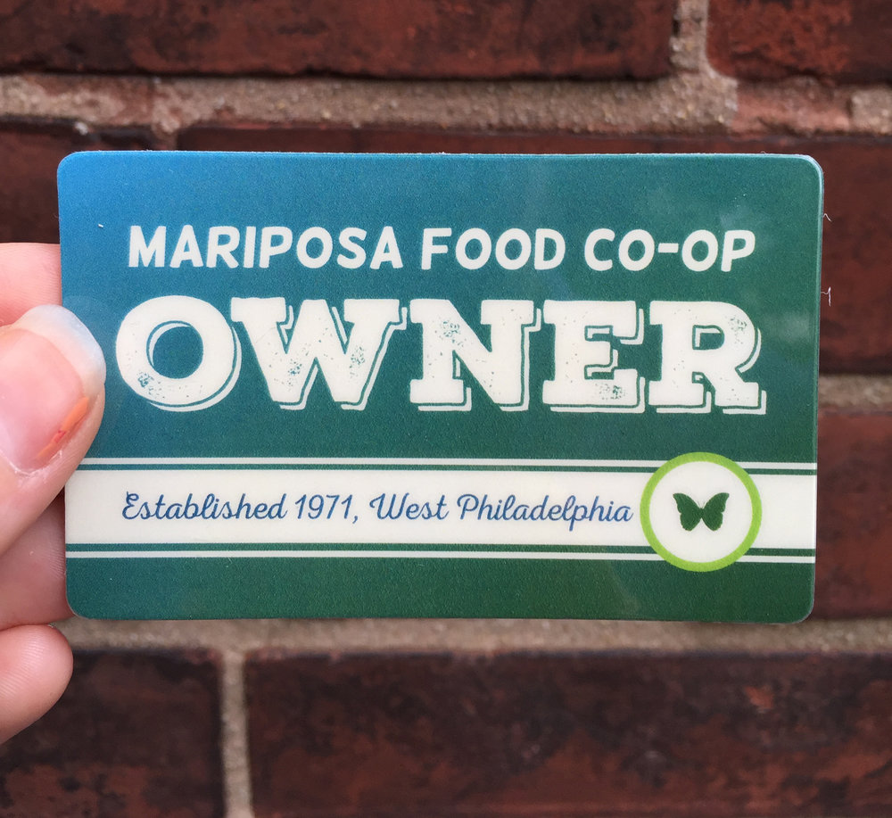 Mariposa Owner Card