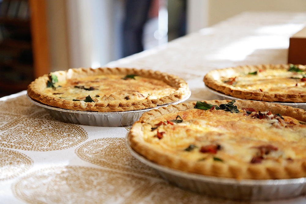 Asparagus Pepper Quiche