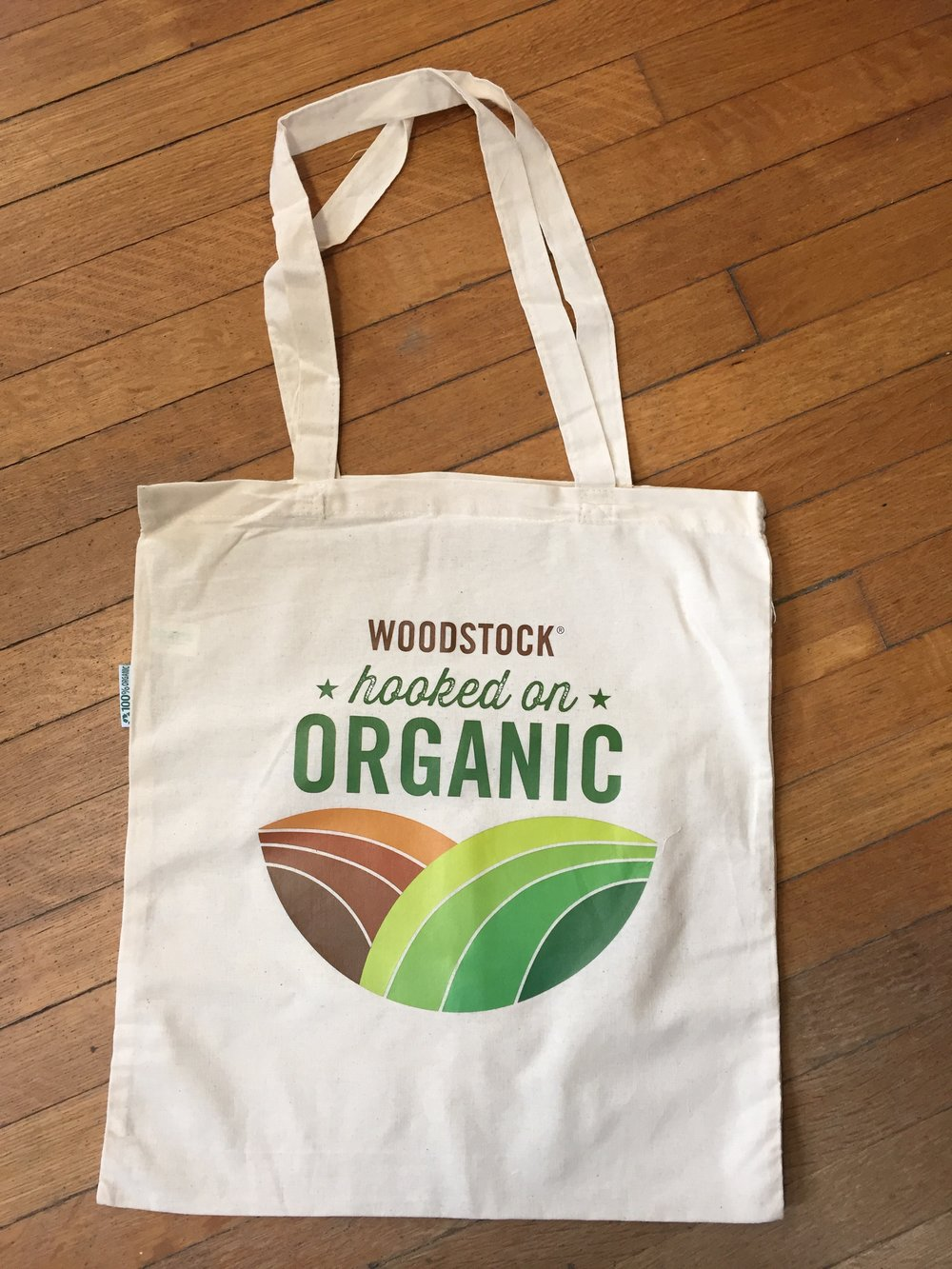 Hooked on Organics reusable tote