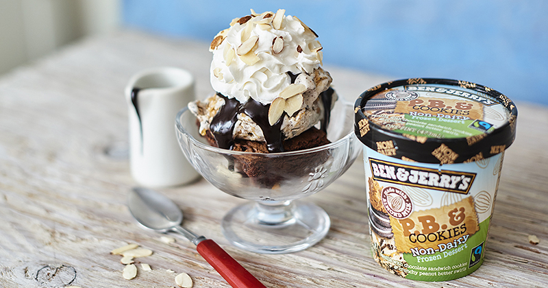 Vegan Ben & Jerry's Ice Cream