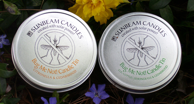 Sunbeam Citronella Candles