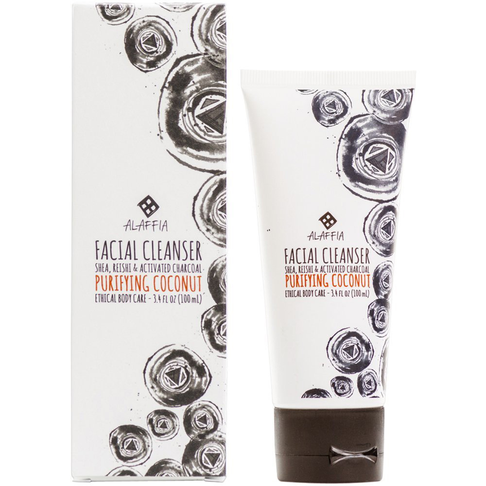 Alaffia Charcoal Facial Cleanser