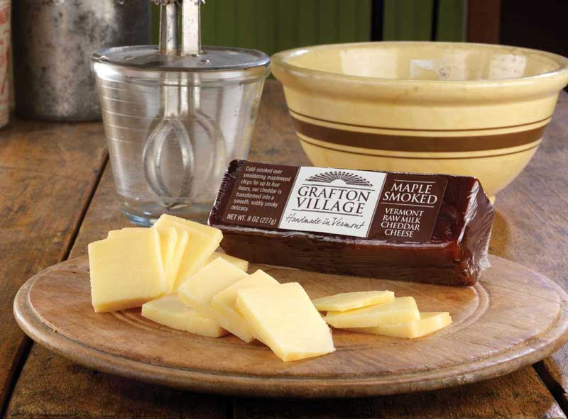 Grafton Village Smoked Maple Cheddar