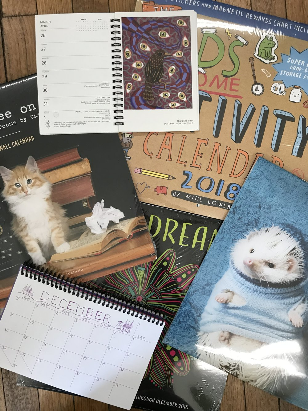 2018 Calendars Planners