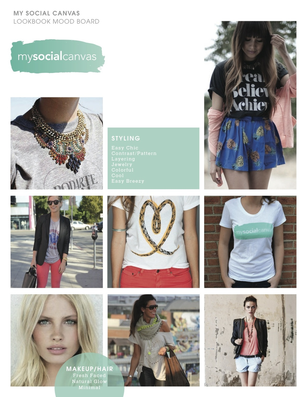 c535051b2a This My Social Canvas look book   mood board is giving us major style  inspiration! What styles do you love  What styles do you want to see on My  Social ...