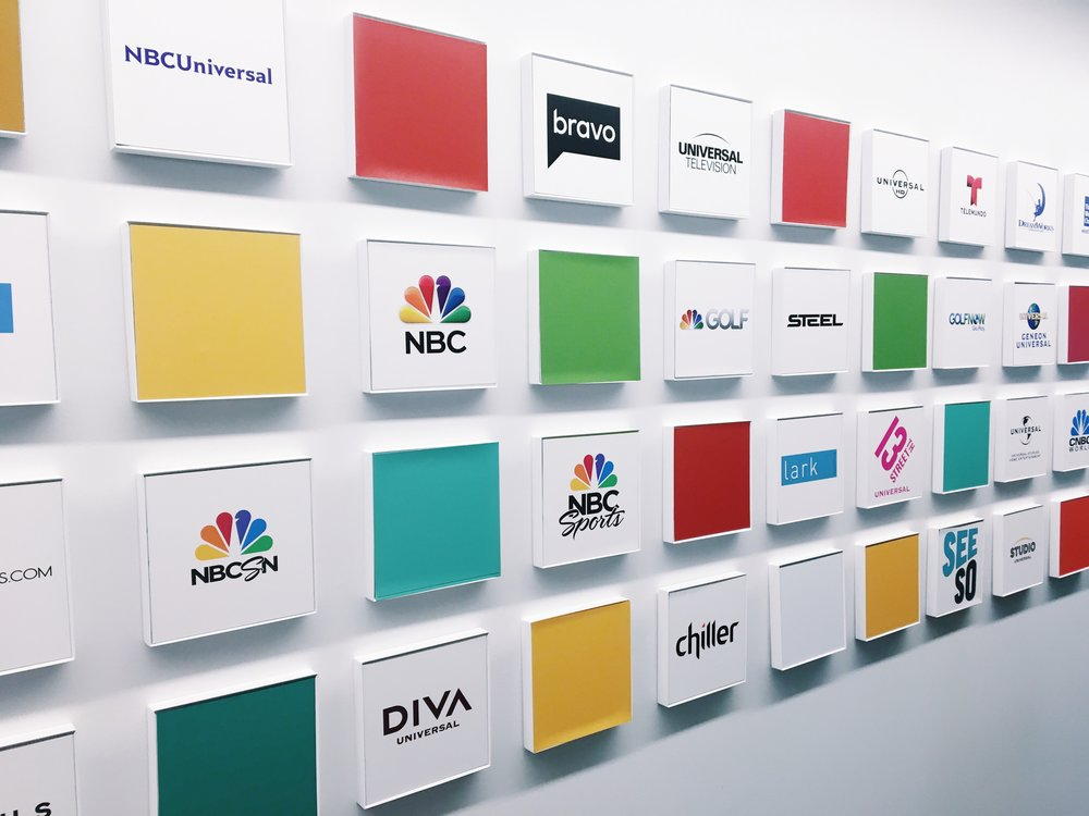 A sneak peek into the NBCUniversal offices!