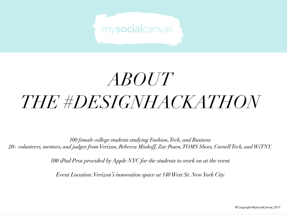 #DesignHackathon Recap