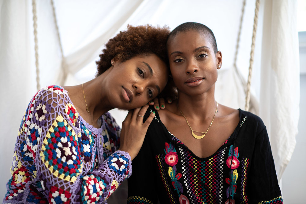 Tory (left) & Victory (right) – Founders, The Colored Girl