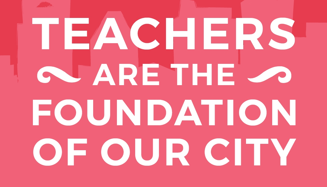 Show Your Love for Teachers Campaign Kicks Off