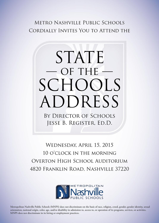State of Schools Invite