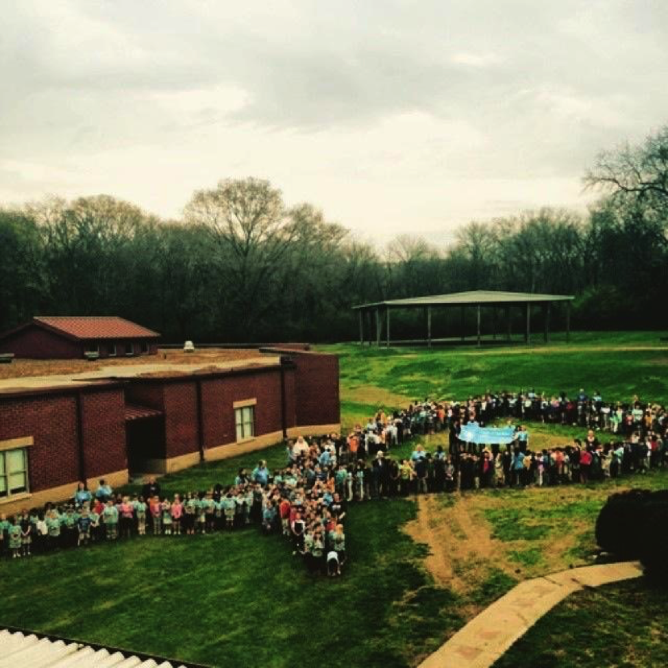 Photo curtesy of Andrew Jackson Elementary School, Autism Acceptance Month kickoff event