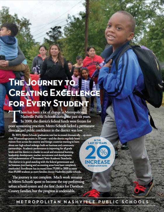Read the companion publication, Metro Schools' Journey.