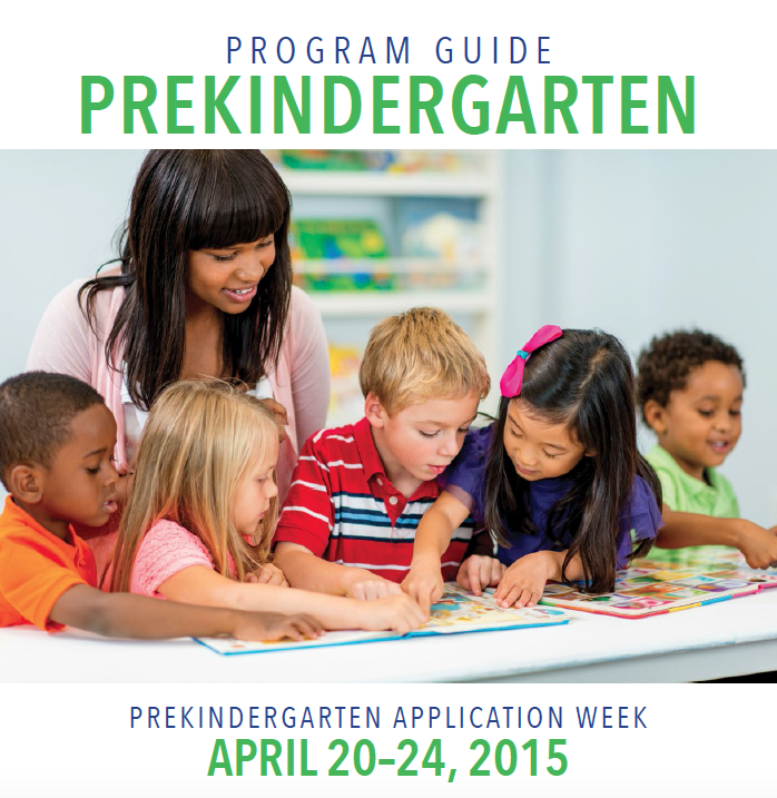Pre-K Program Guide - Cover