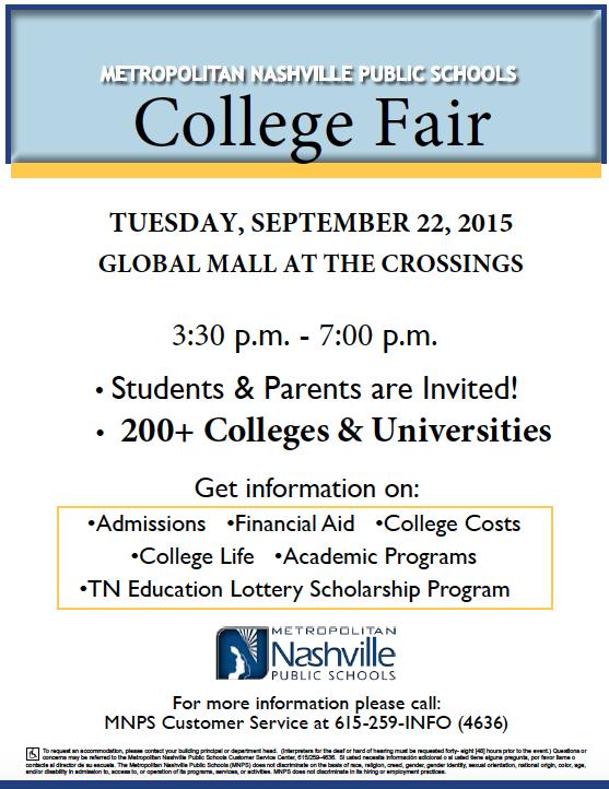 College Fair 2015