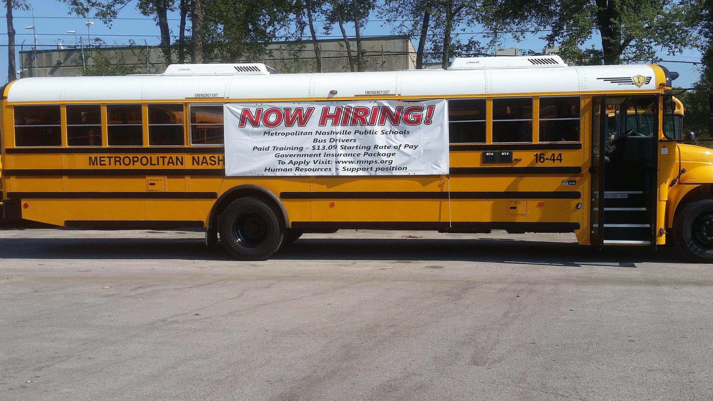 BusDrivers-NowHiringNashvillepublicSchools