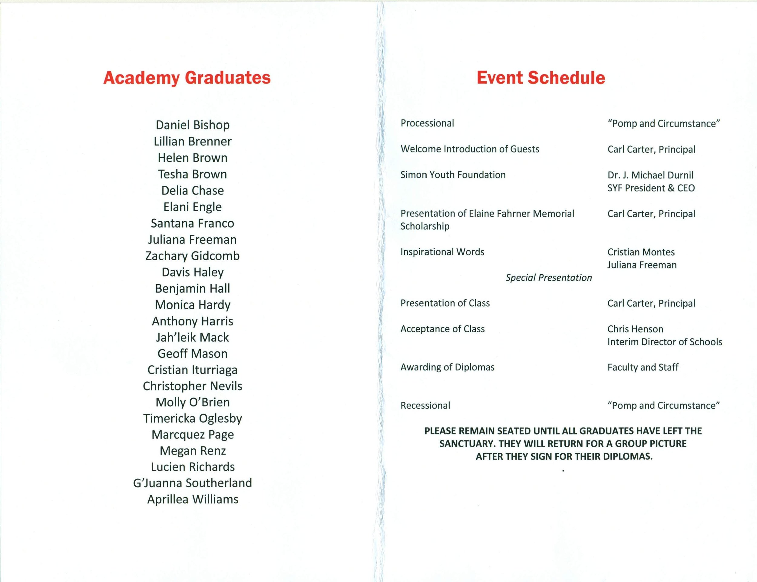 Academy at Old Cockrill graduation program dec 2015-page-002