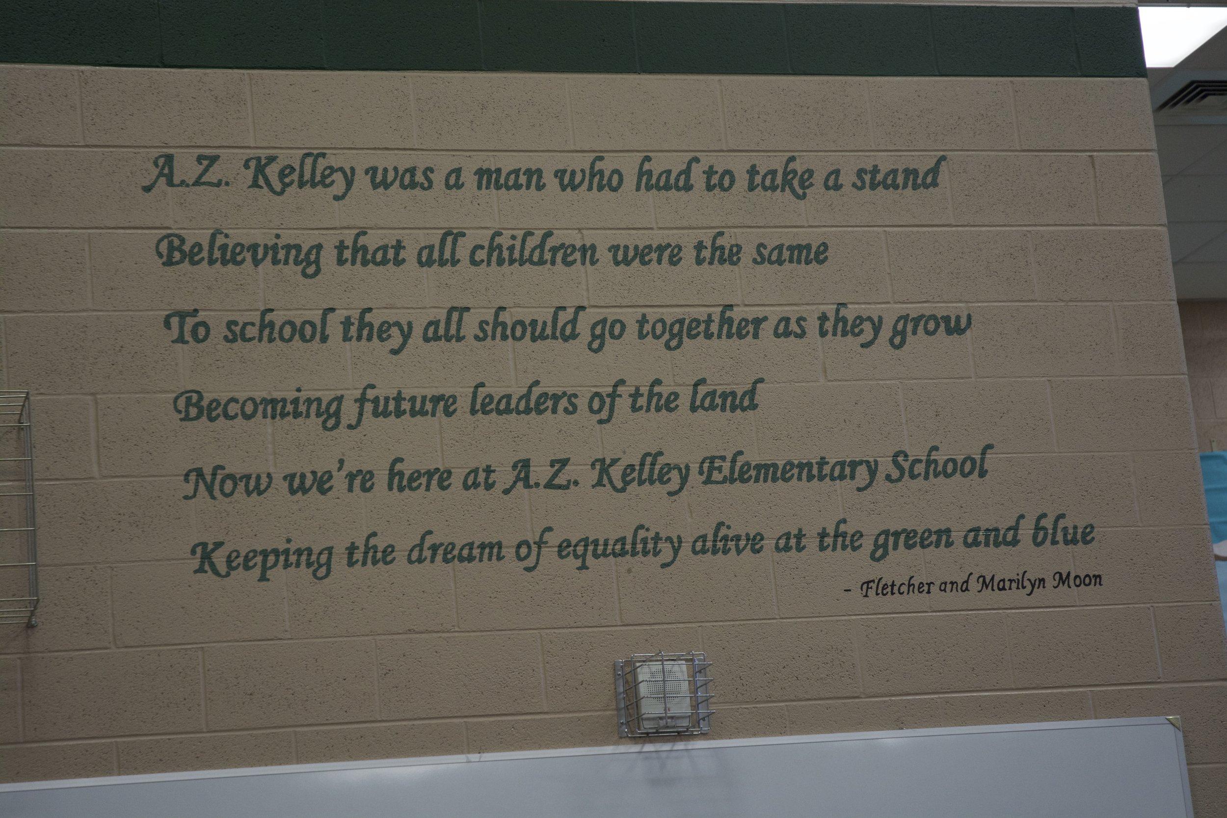 A.Z. Kelley Alma Mater