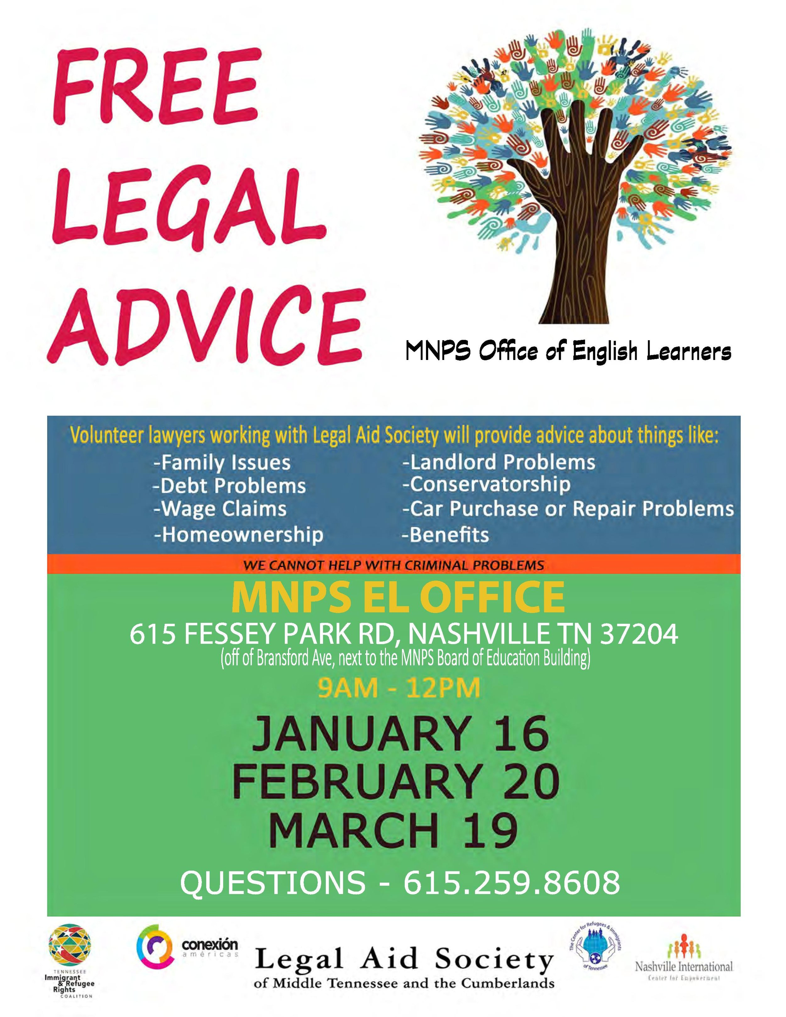 Free legal advice- flyer-ENGLISH- Jan-March 2016-page-001