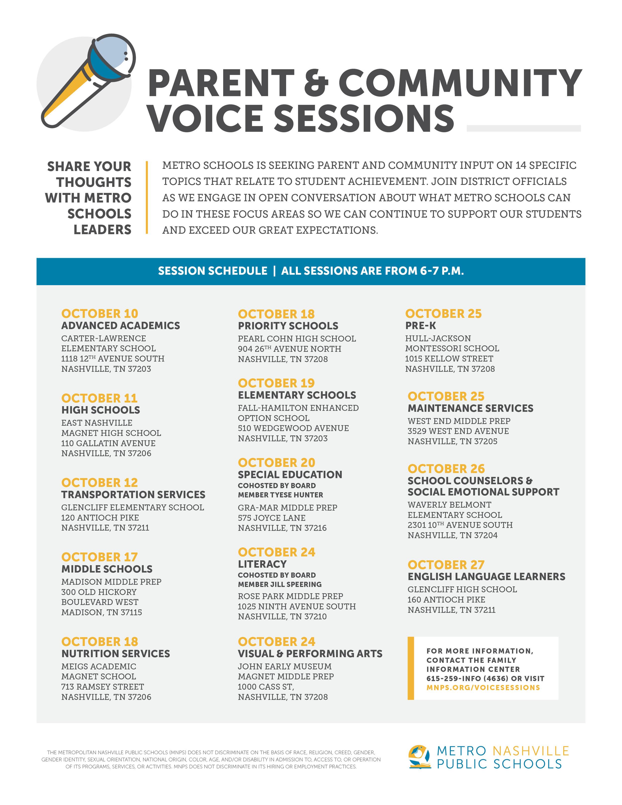 community-voice-session-flier