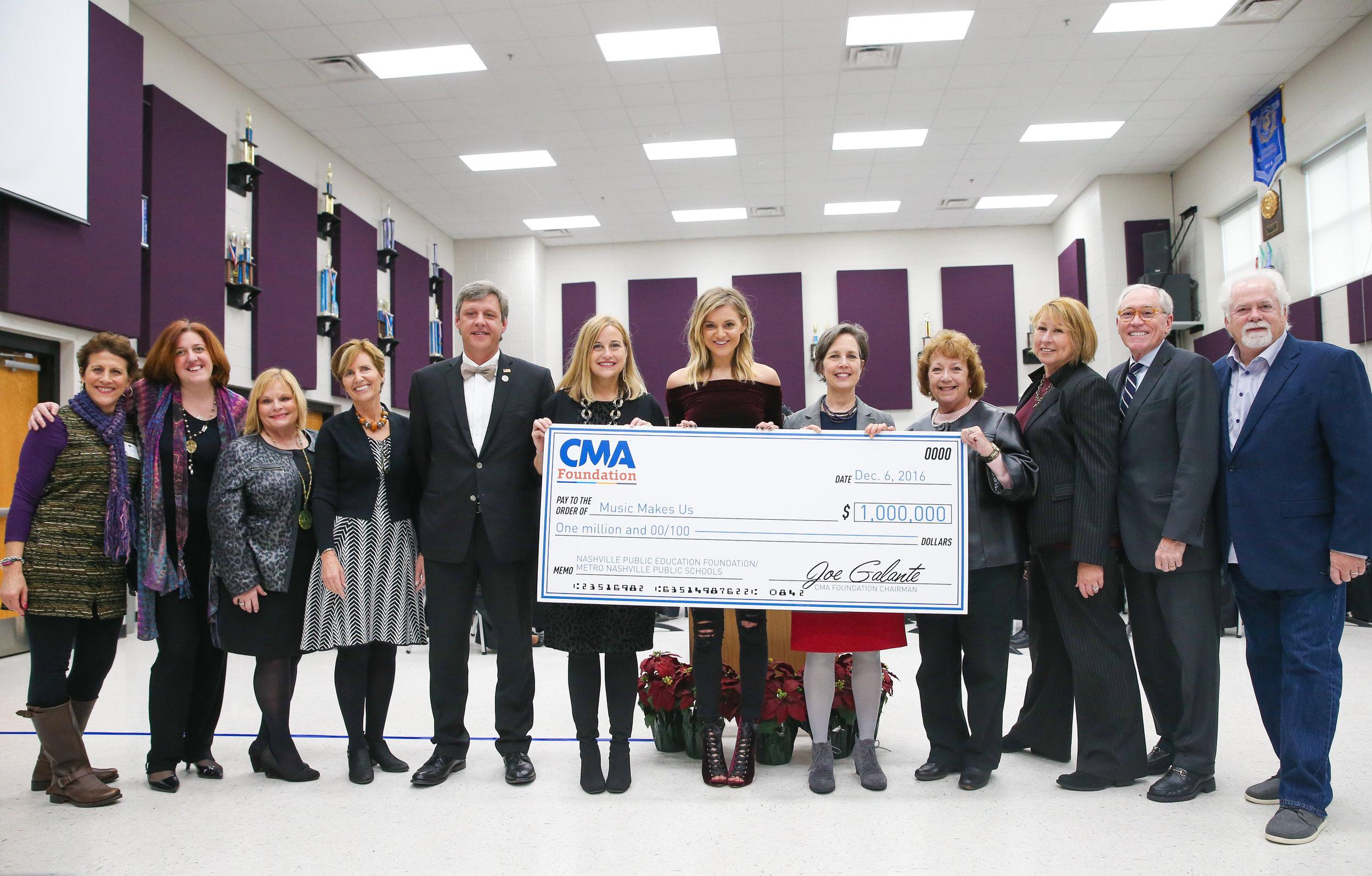Kelsea Ballerini And CMA Foundation Announcement