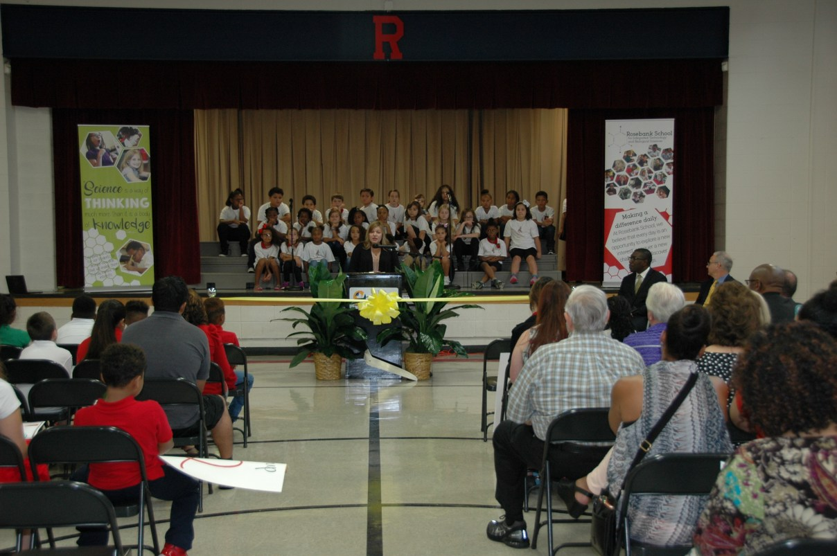 Rosebank Elementary Celebrates Completion of Renovations