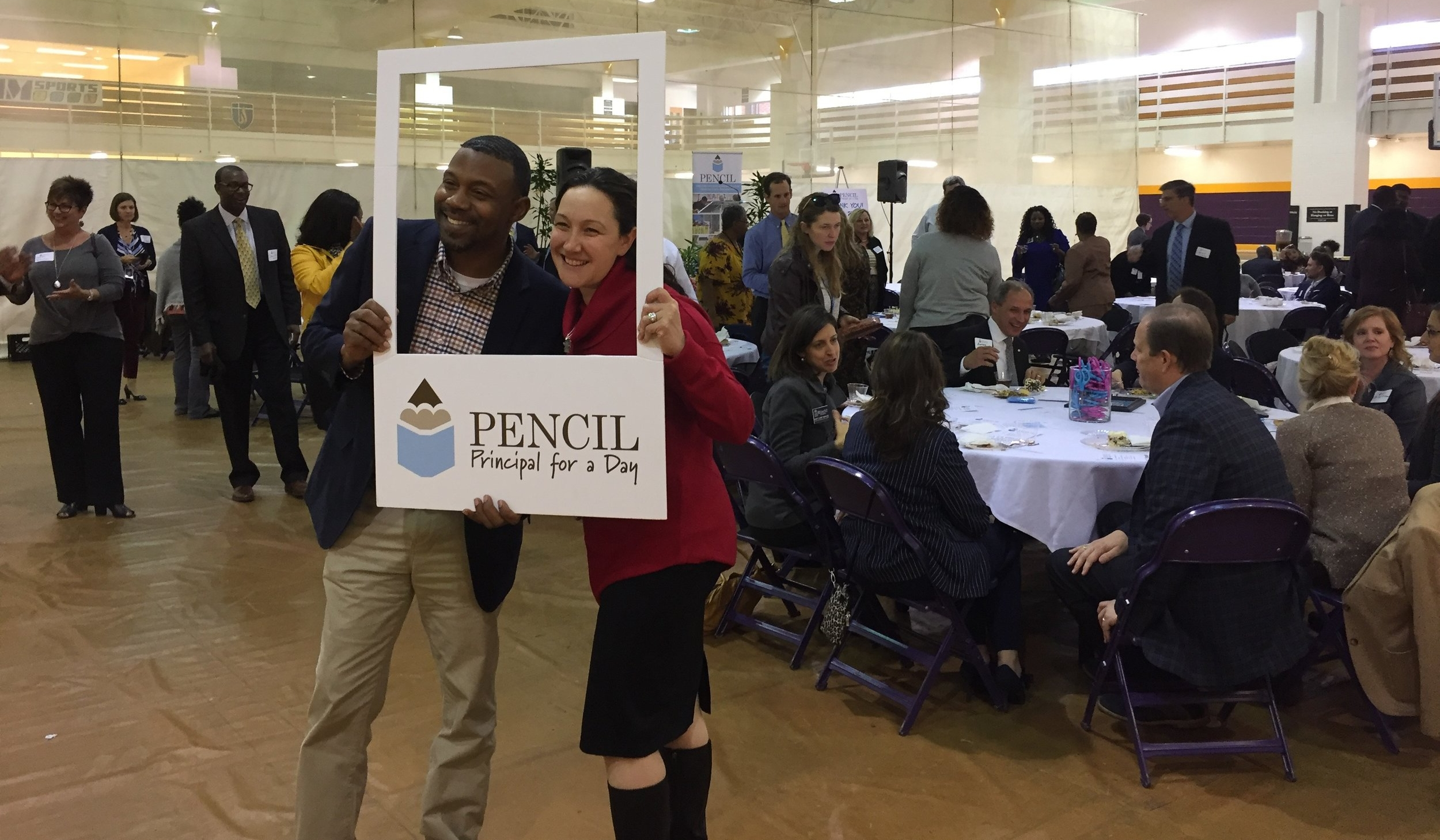 PENCIL Hosts 'Principal for a Day' Event In Metro Schools