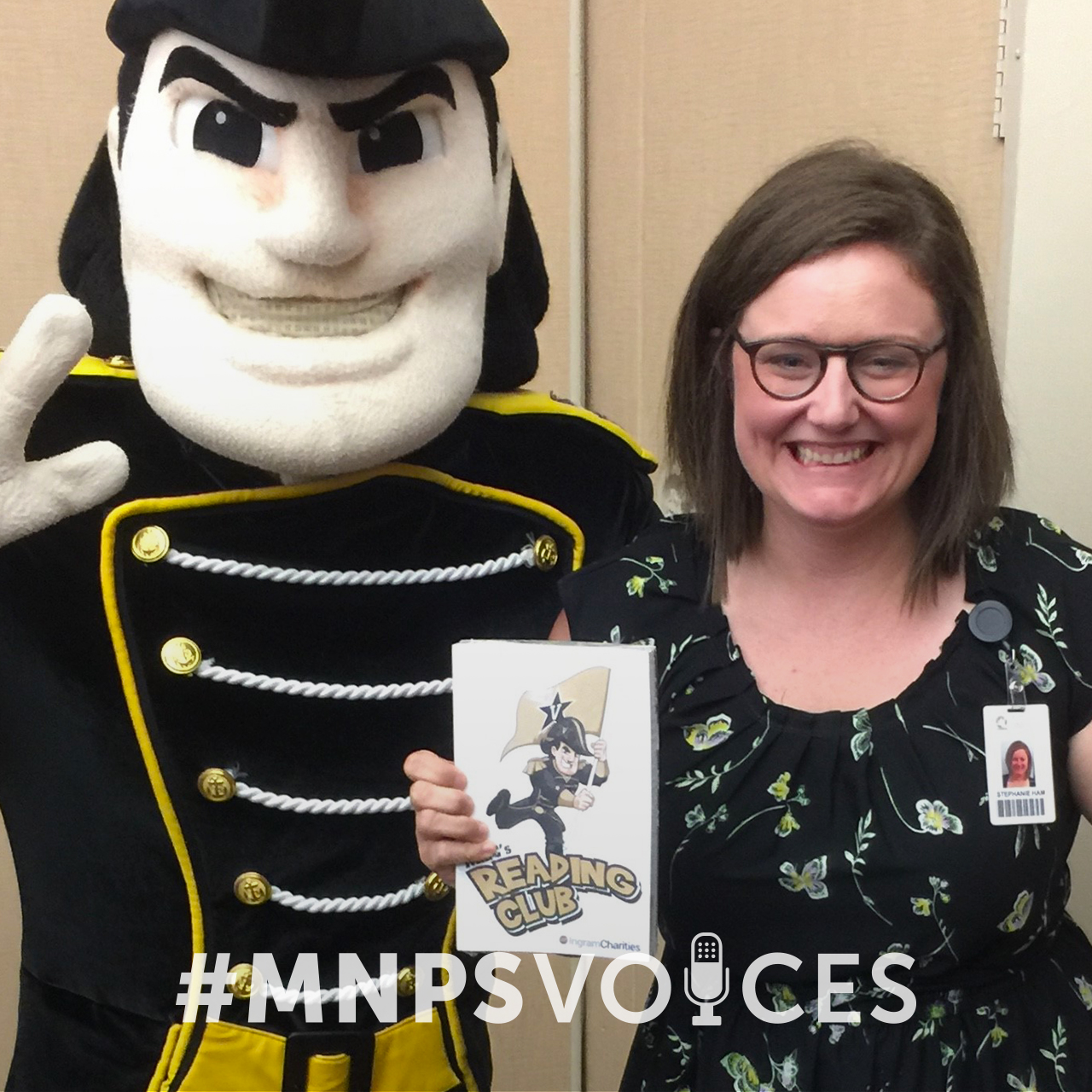 #MNPSVoices: Stephanie Ham, Director of Library Services