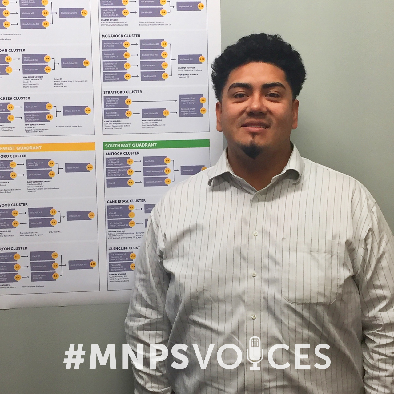 #MNPSVoices- Steve Alvarez, School Options Specialist