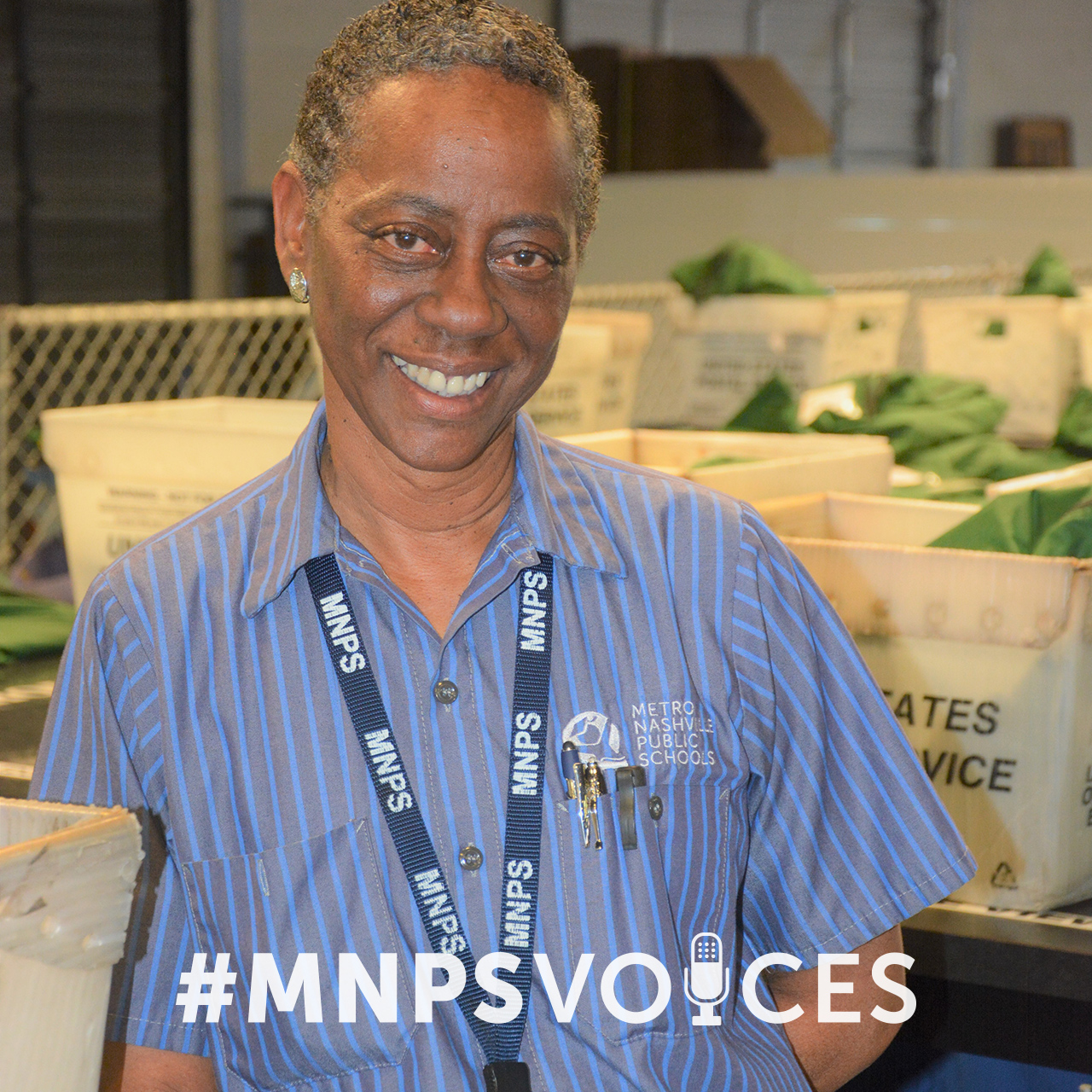 #MNPSVoices: Shirley Davis, Distribution Center Office Manager