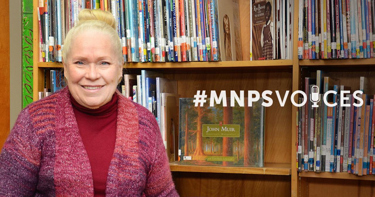 #MNPSVoices: Karen McIntyre, School Librarian