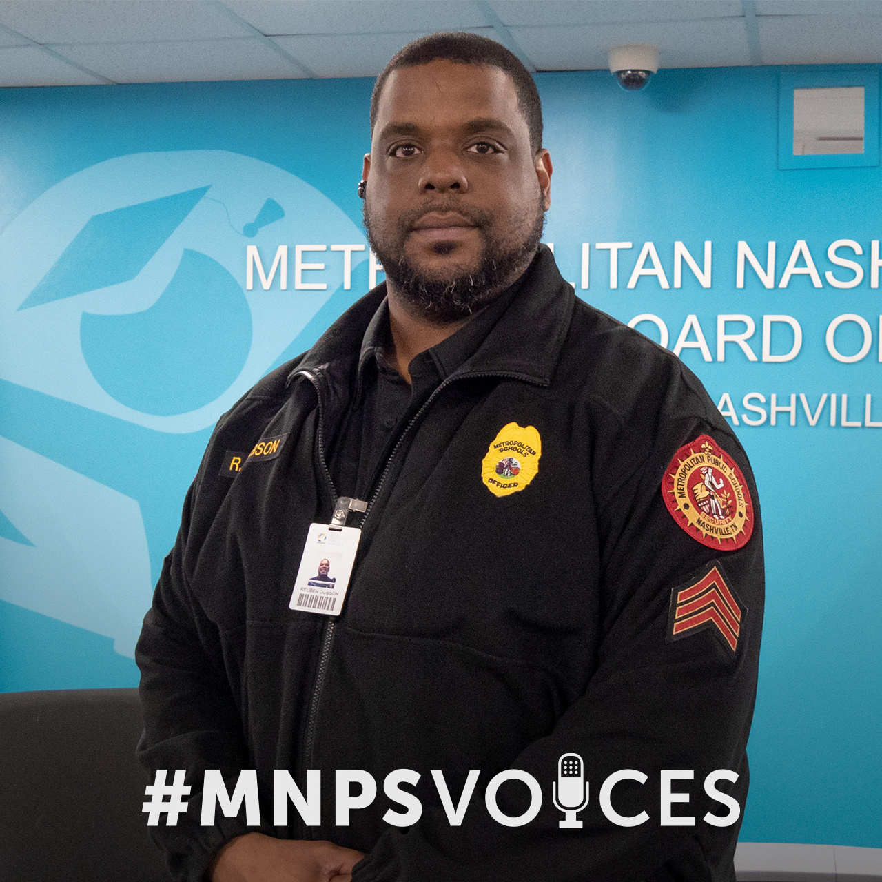 #MNPSVoices: Officer Reuben Dobson, Interim Field Director