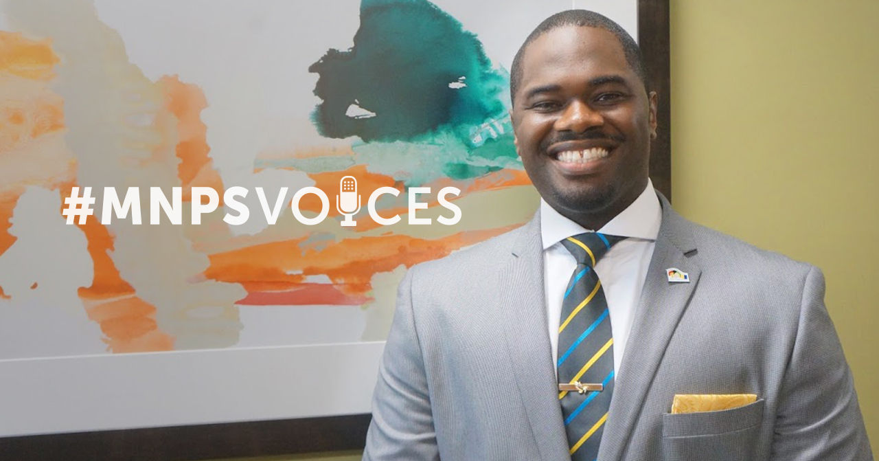 #MNPSVoices: Wayne E. Simpson, Family Engagement Specialist