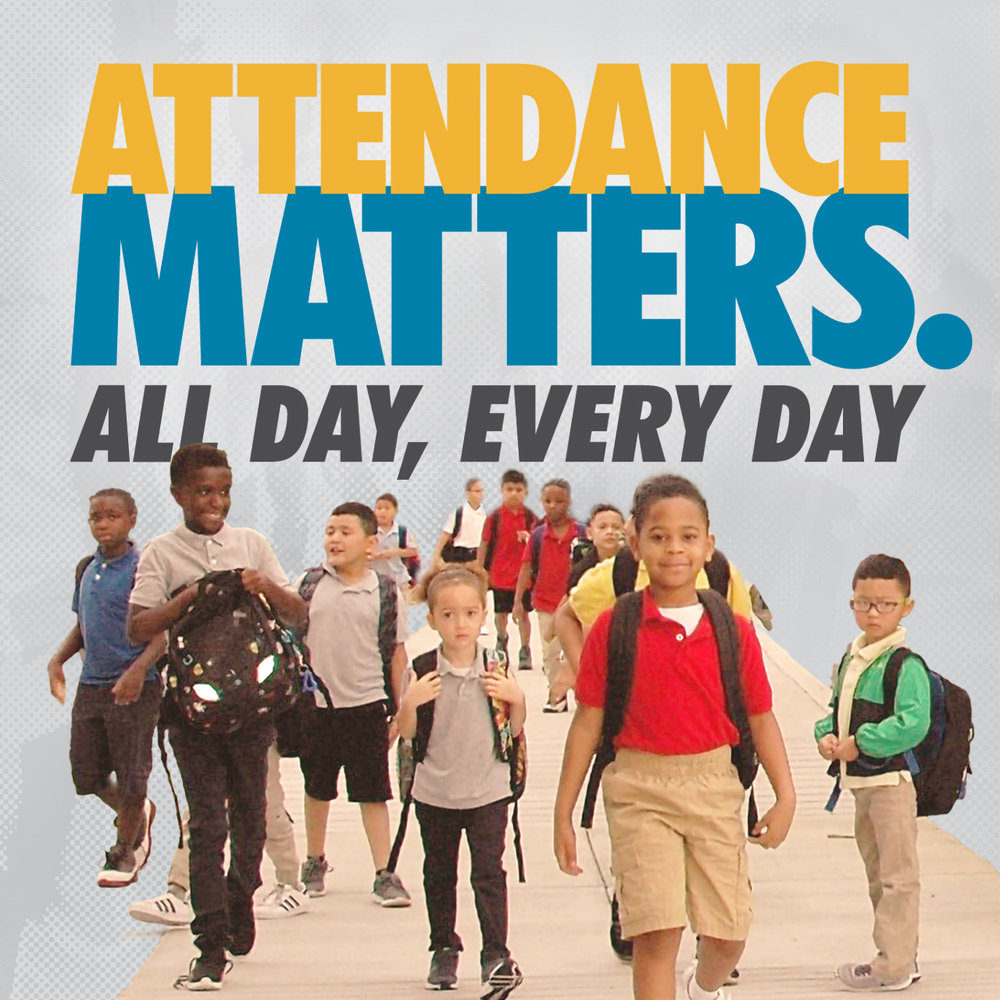 attendance matters-kids walking