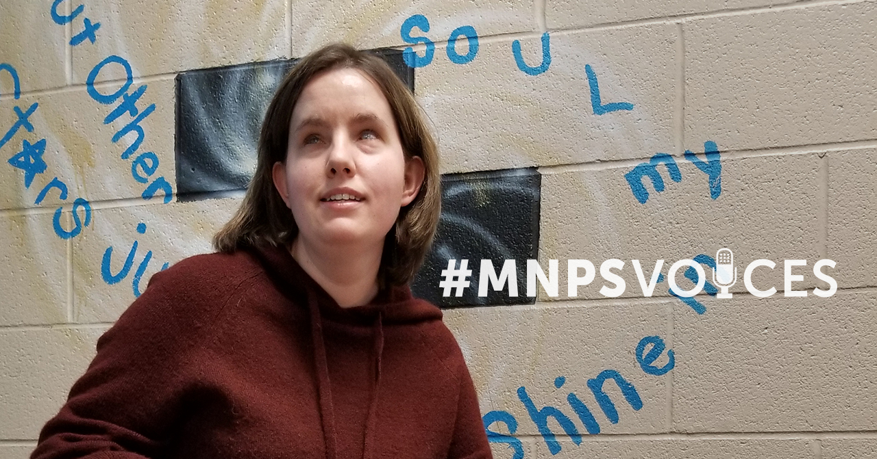 #MNPSVoices: Adlee (Faith) Manion, English Teacher
