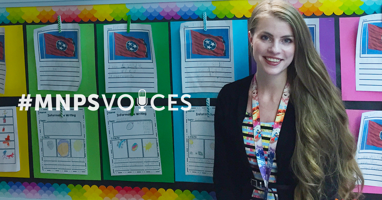 #MNPSVoices: Charity McCracken, Haywood Elementary Kindergarten Teacher