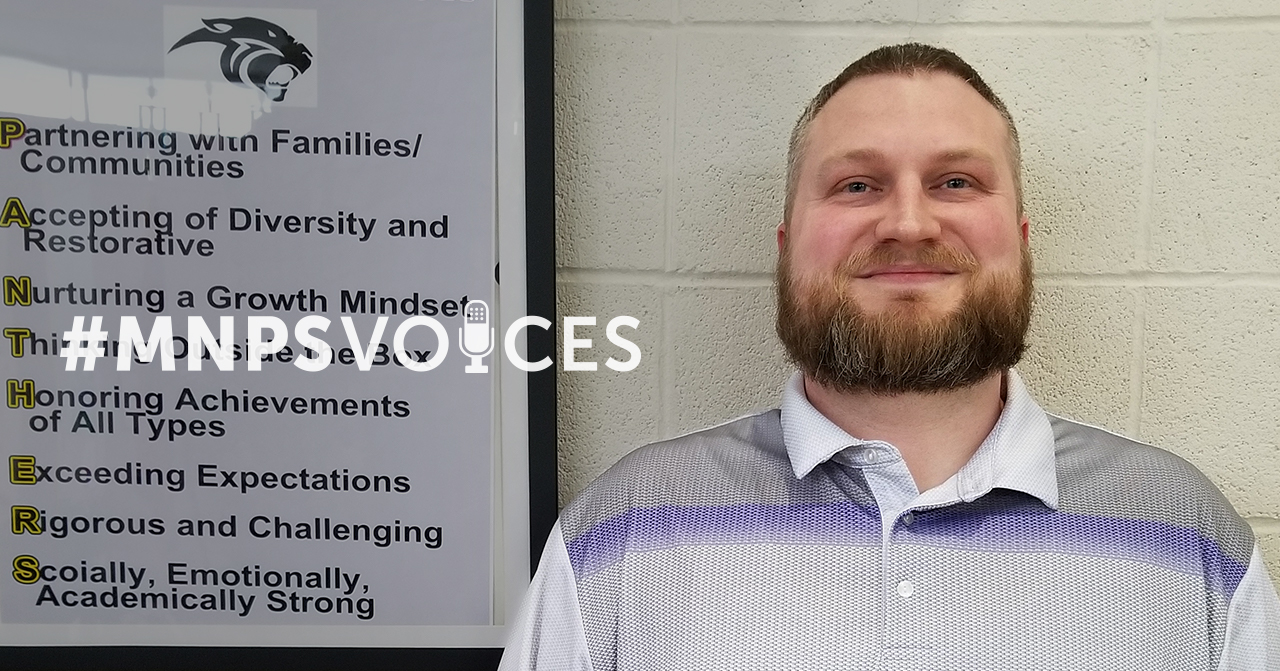#MNPSVoices- Stephen Goheen, Office Secretary at H.G. Hill Middle School