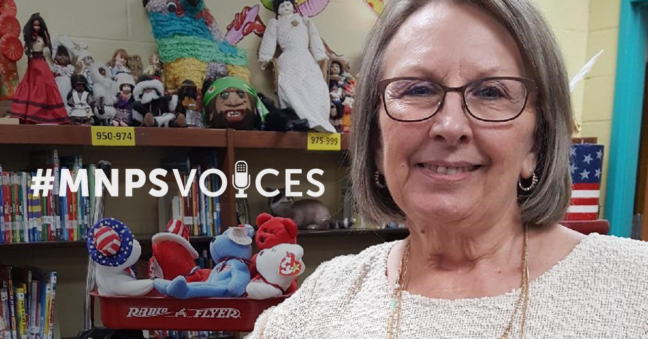 #MNPSVoices, Debbie Seagroves, Library Materials Clerk, Una Elementary School