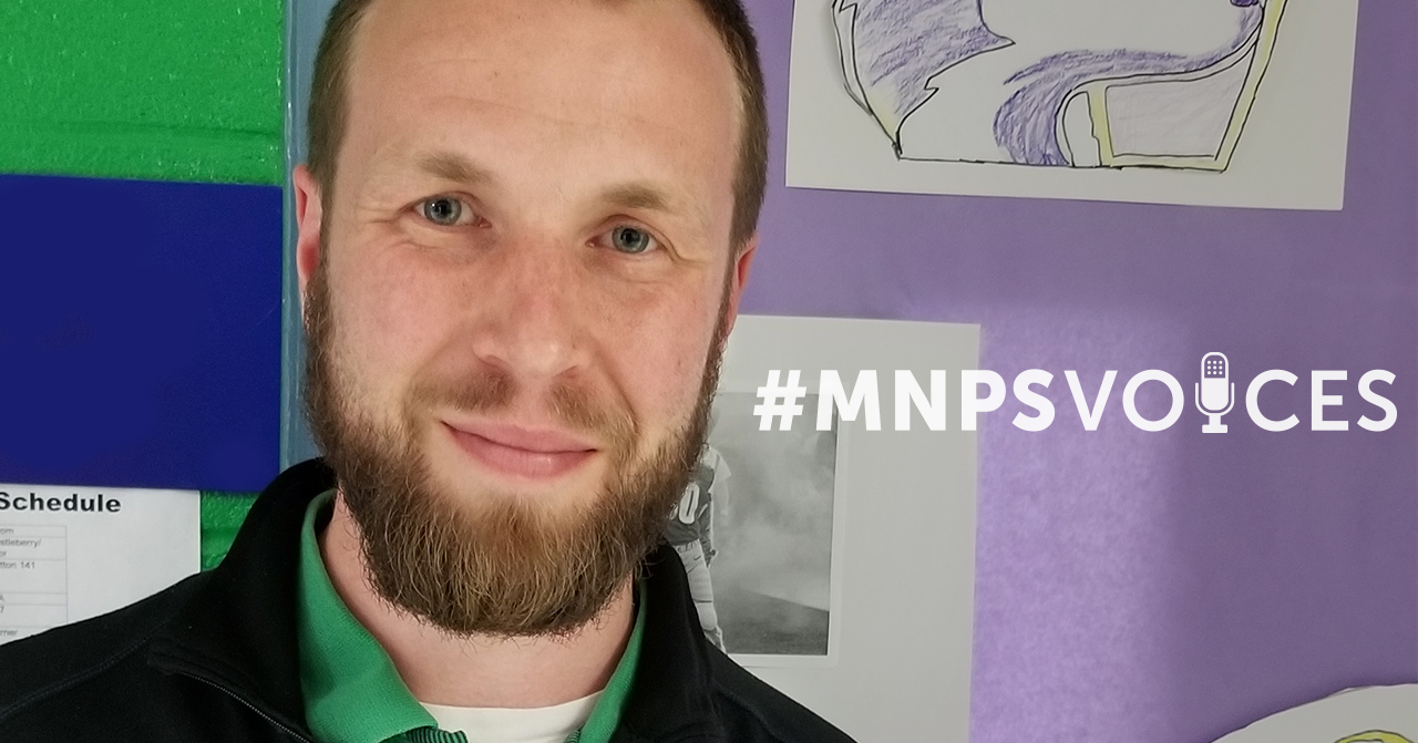 #MNPSVoices: Nathanael James, Exceptional Education Teacher at Stratton Elementary