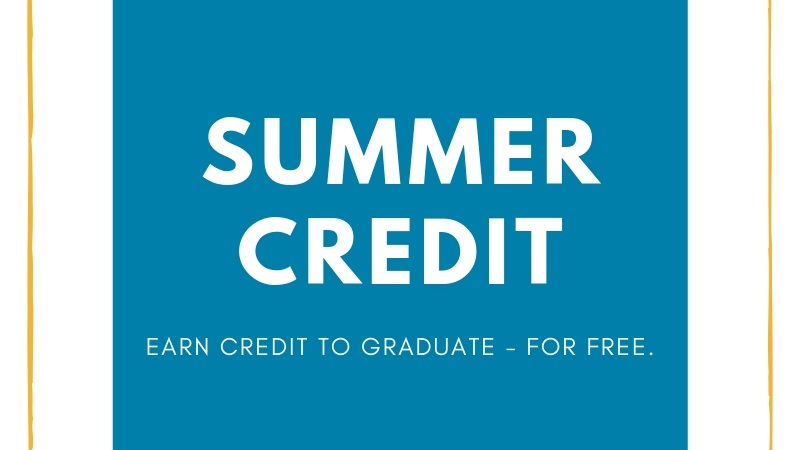 Are you a high school student who needs credit recovery?
