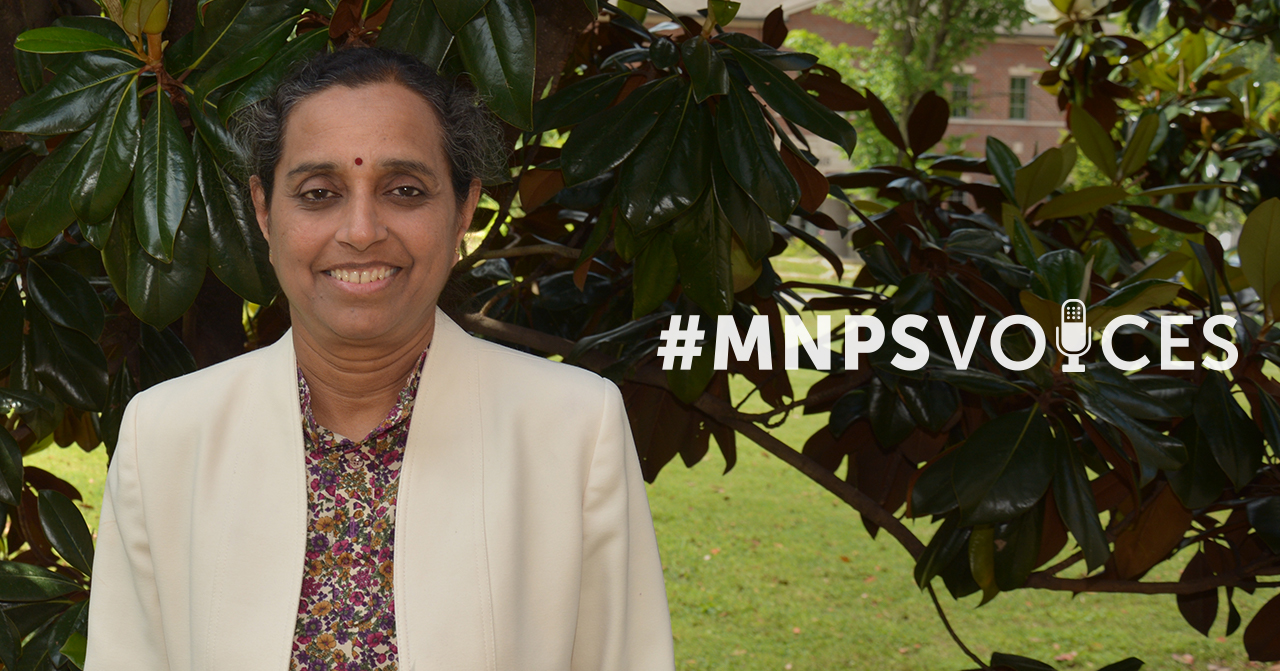 #MNPSVoices: Kamala Raghunathan, IT Developer and Program Analyst