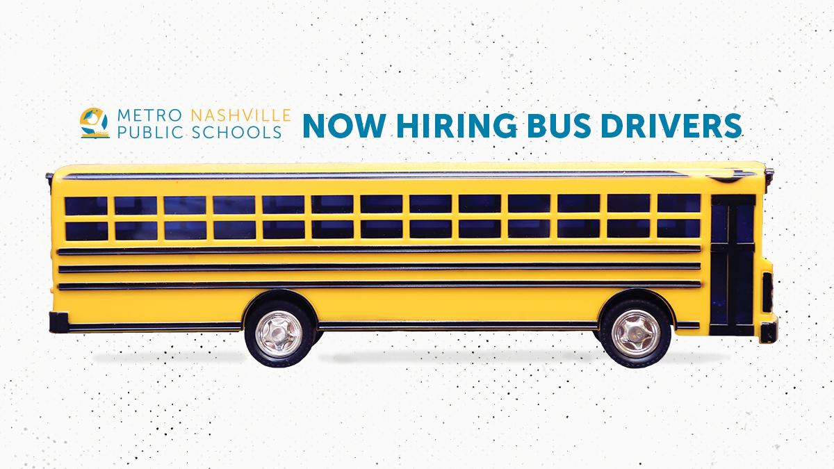 Metro Schools is Hiring Bus Drivers