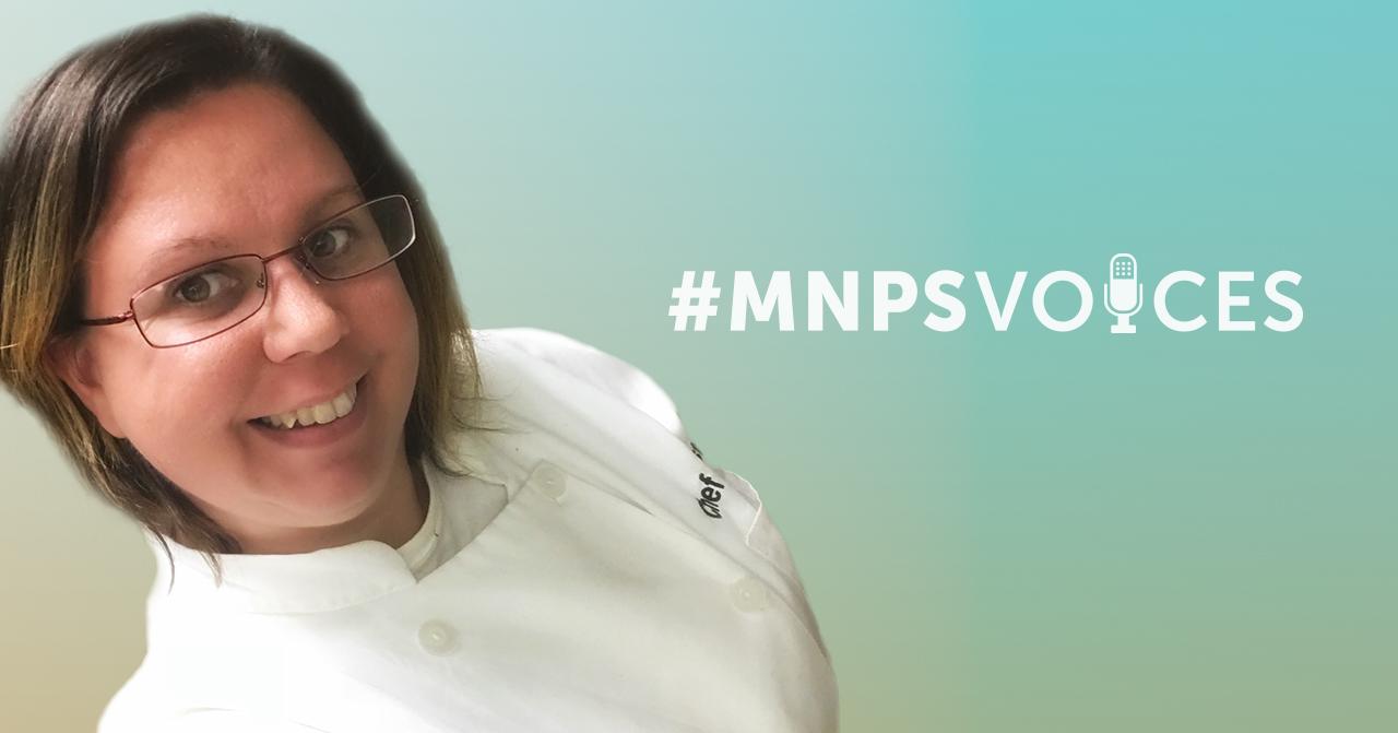 #MNPSVoices – Chef Christina Trikoris, Culinary Arts Instructor, Glencliff High School