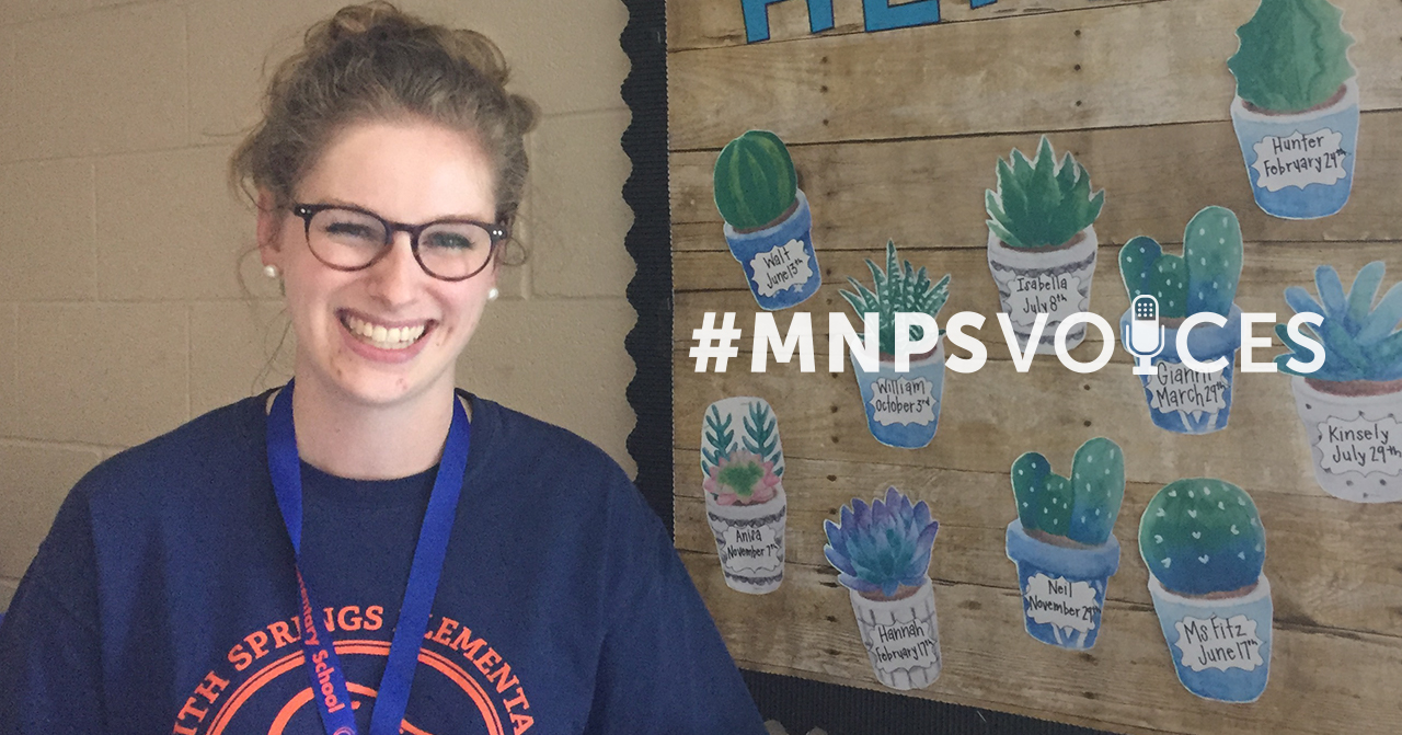 #MNPS Voices Maeve Fitzpatrick of Smith Springs Elementary