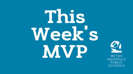 This week's MNPS MVP Janiah Keesee – East Nashville Middle School