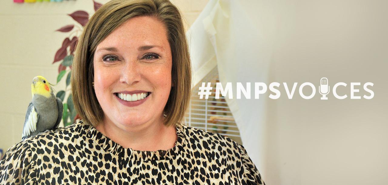 #MNPSVoices Melissa Glasgow of Cockrill Elementary
