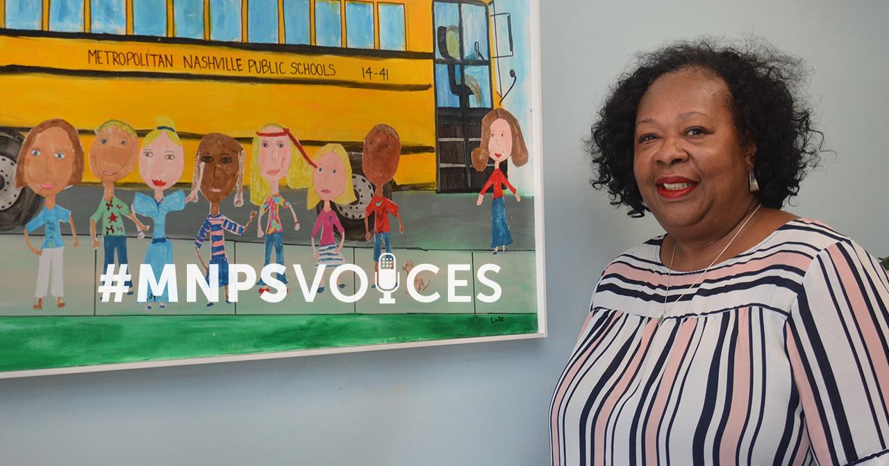 #MNPSVoices - Tina Bridgeforth, Transportation Routing Manager
